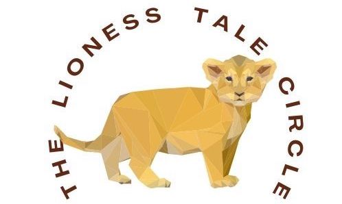 The Lioness Tale Circle Logo